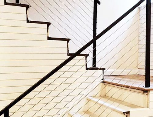 Best cable stair railing design in May 2021